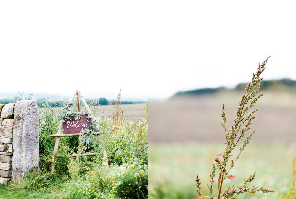 'Falling in Love' Autumn Bridal Editorial at Healey Barn   North East Fine Art Wedding Photographer