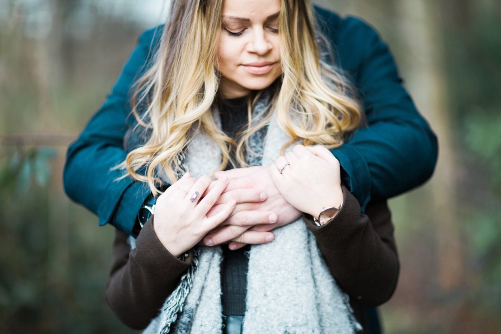 Winter Pre Wedding Shoot at Lymm Dam | North West Wedding Photographer