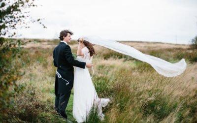 Summer Wedding at Home on the Yorkshire Moors | Yorkshire Fine Art Wedding Photographer