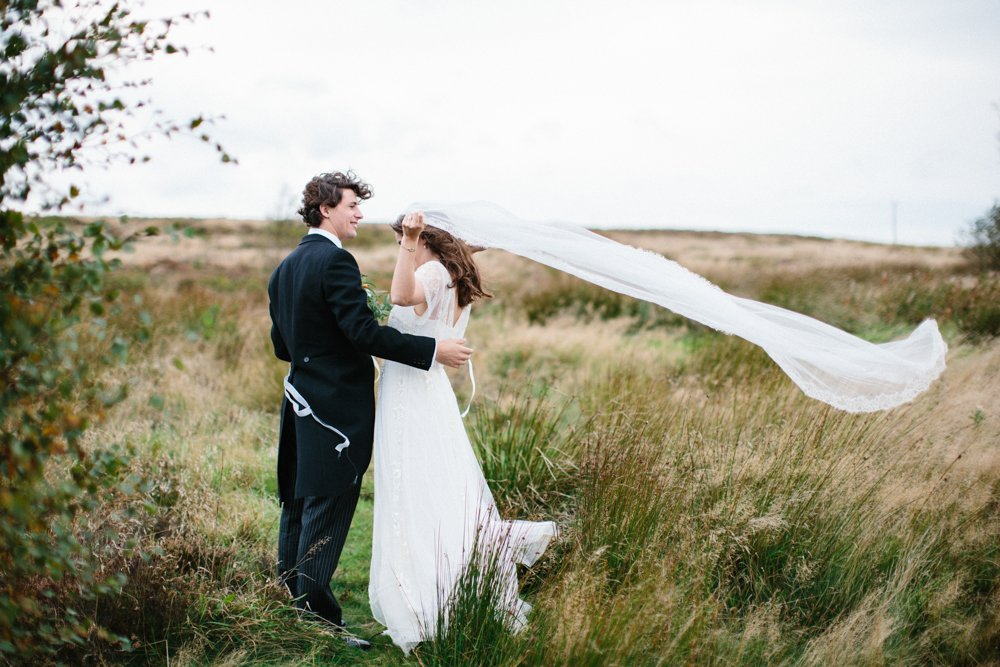 Summer Wedding at Home on the Yorkshire Moors | Yorkshire Fine Art Wedding Photographer