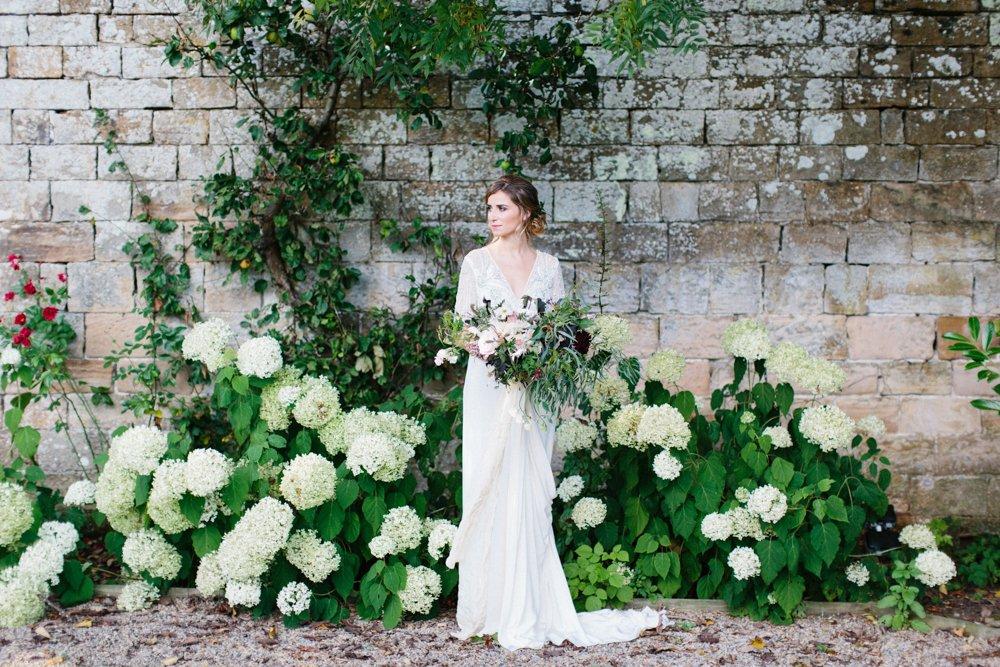 Outdoor wedding inspiration Northumberland