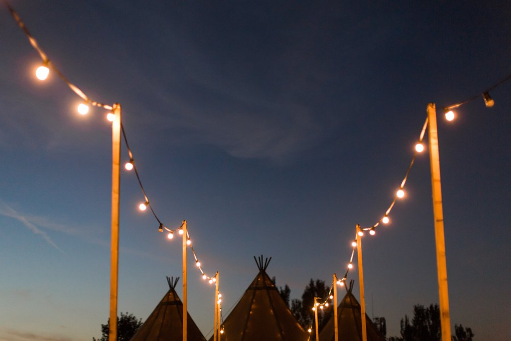 tipi wedding at Hill Top Farm Cheshire