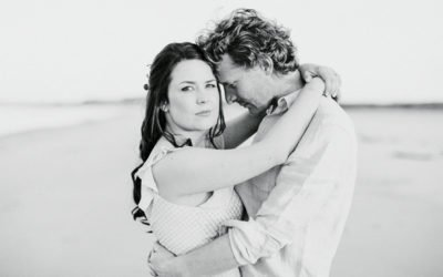 Coastal Pre Wedding Shoot in Secluded Northumberland | North East Fine Art Wedding Photographer