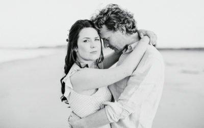 Coastal Pre Wedding Shoot in Secluded Northumberland | North East Fine Art Wedding Photographer