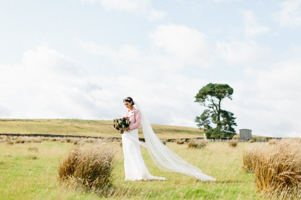boho chic wedding at Wild Northumbrian